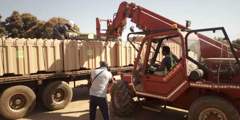 Bobo mobilization unloading tents