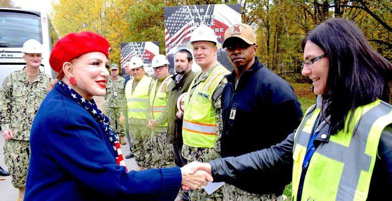 Command Translator - Assisting US Embassy Mosbacher during NSF Redzikowo visit